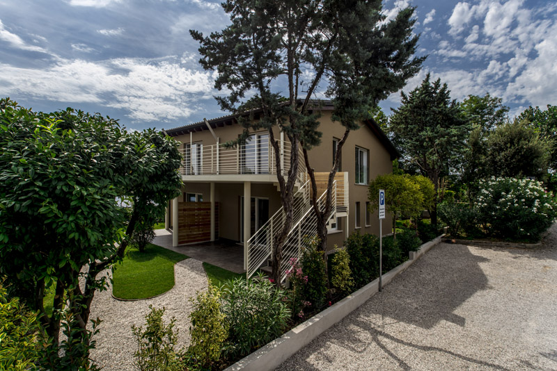 Apartments for holiday on Lake Garda: the first eco-residence